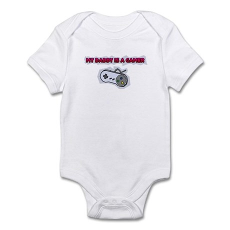 My Daddy Is A Gamer Infant Bodysuit