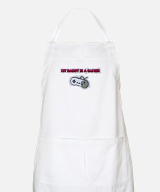 My Daddy Is A Gamer BBQ Apron