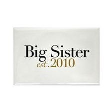 New Big Sister 2010 Rectangle Magnet