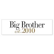 New Big Brother 2010 Bumper Bumper Sticker