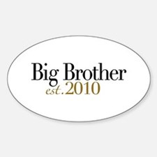 New Big Brother 2010 Oval Decal