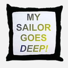 my saillor Throw Pillow