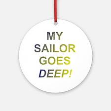 my saillor Ornament (Round)