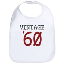 Vintage 1960 Bib