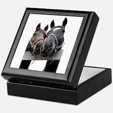 Kissing Horses Keepsake Box