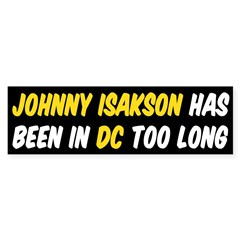 Johnny Isakson Bumper Sticker