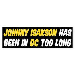Johnny Isakson Bumper Bumper Sticker