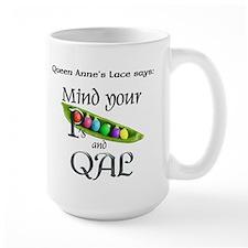 Rainbow Peapod Mug