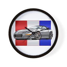 98-02 Silver Camaro Wall Clock