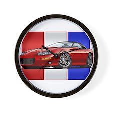 98-02 Red Camaro Wall Clock