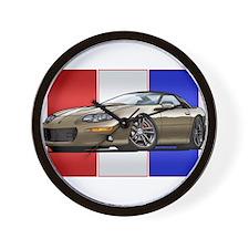 98-02 Pewter Camaro Wall Clock