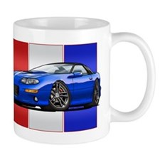 98-02 Blue Camaro Small Mug