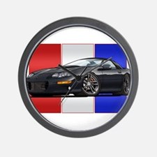 98-02 Black Camaro Wall Clock