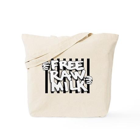 Free Raw Milk Tote Bag