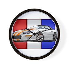 98-02 White Camaro SS Wall Clock