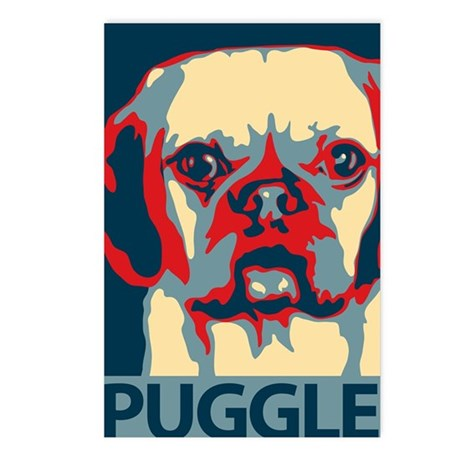 Vote Puggle! - Postcards (Package of 8)