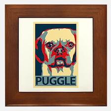 Vote Puggle! - Framed Tile