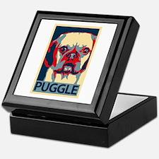 Vote Puggle! - Keepsake Box