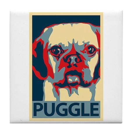 Vote Puggle! - Tile Coaster