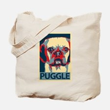 Vote Puggle! - Tote Bag