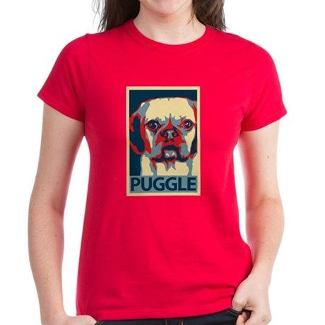 Vote Puggle! - Women's Dark T-Shirt
