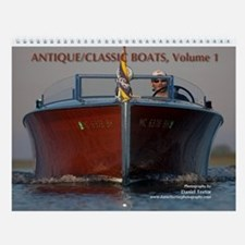 Antique/Classic Boats, Vol 1, Wall Calendar
