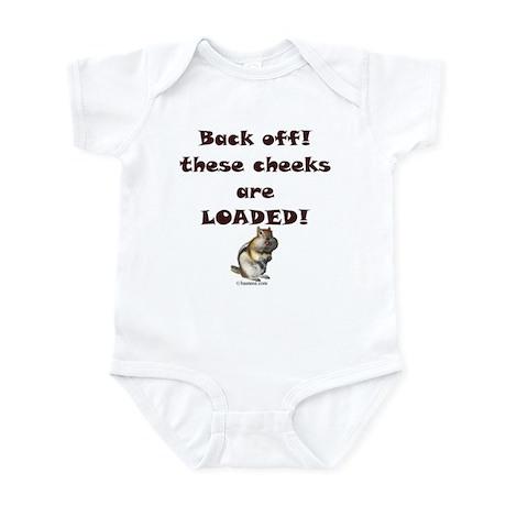 Cheeks Loaded Infant Bodysuit