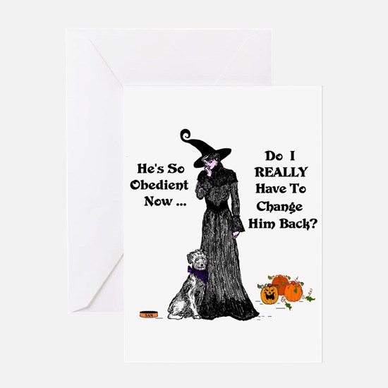 Cool Witchcraft Greeting Card
