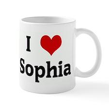 I Love Sophia Mug