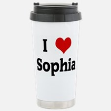 I Love Sophia Travel Mug
