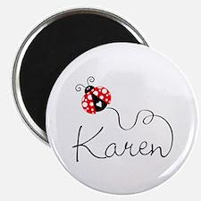 Ladybug Karen Magnet