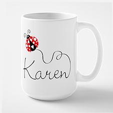 Ladybug Karen Large Mug