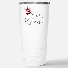 Ladybug Karen Travel Mug