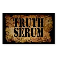 Truth Serum Bottle Label Decal