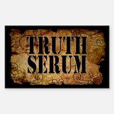 Truth Serum Bottle Label Decal