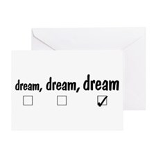 Big dream Greeting Card