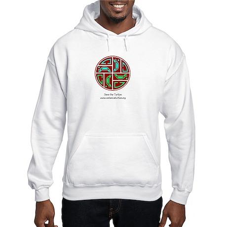 Sea Turtle's Circle of Life Hooded Sweatshirt