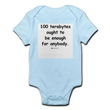 100 terabytes -  Infant Creeper