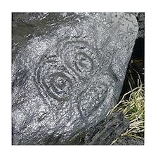 Alaska Petroglyph Tile Coaster