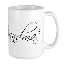 Grandma of 5 Mug