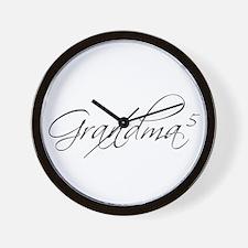 Grandma of 5 Wall Clock