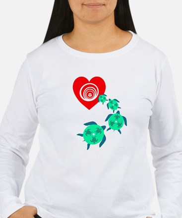 Follow your Heart Turtle T-Shirt