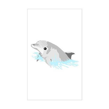 Beautiful Dolphin! Rectangle Sticker