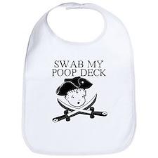 Swab my poop deck Bib