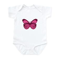 Pink Butterfly Infant Bodysuit