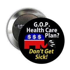 GOP Health Care Plan Button