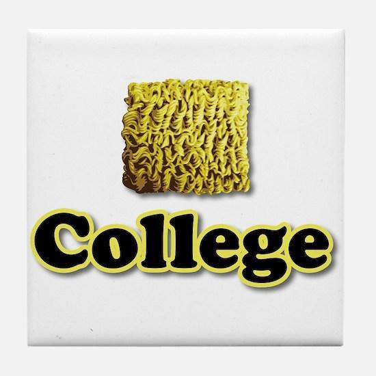 Ramen College Tile Coaster