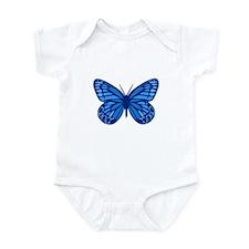 Blue Butterfly Infant Bodysuit