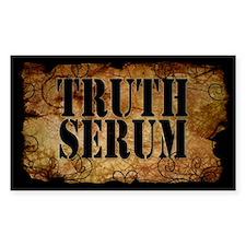 Truth Serum Bottle Label Sticker 10 Pack