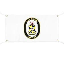 USS Robin MHC 54 Navy Ship Banner
